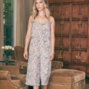 Cupcakes and Cashmere Floral Jumpsuit NWT